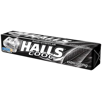 HALLS EXTRA STRONG 33.5 G