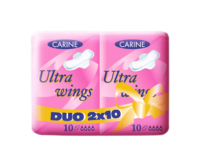 ABSORBANTE CARINE DUO-PACK X20BUC