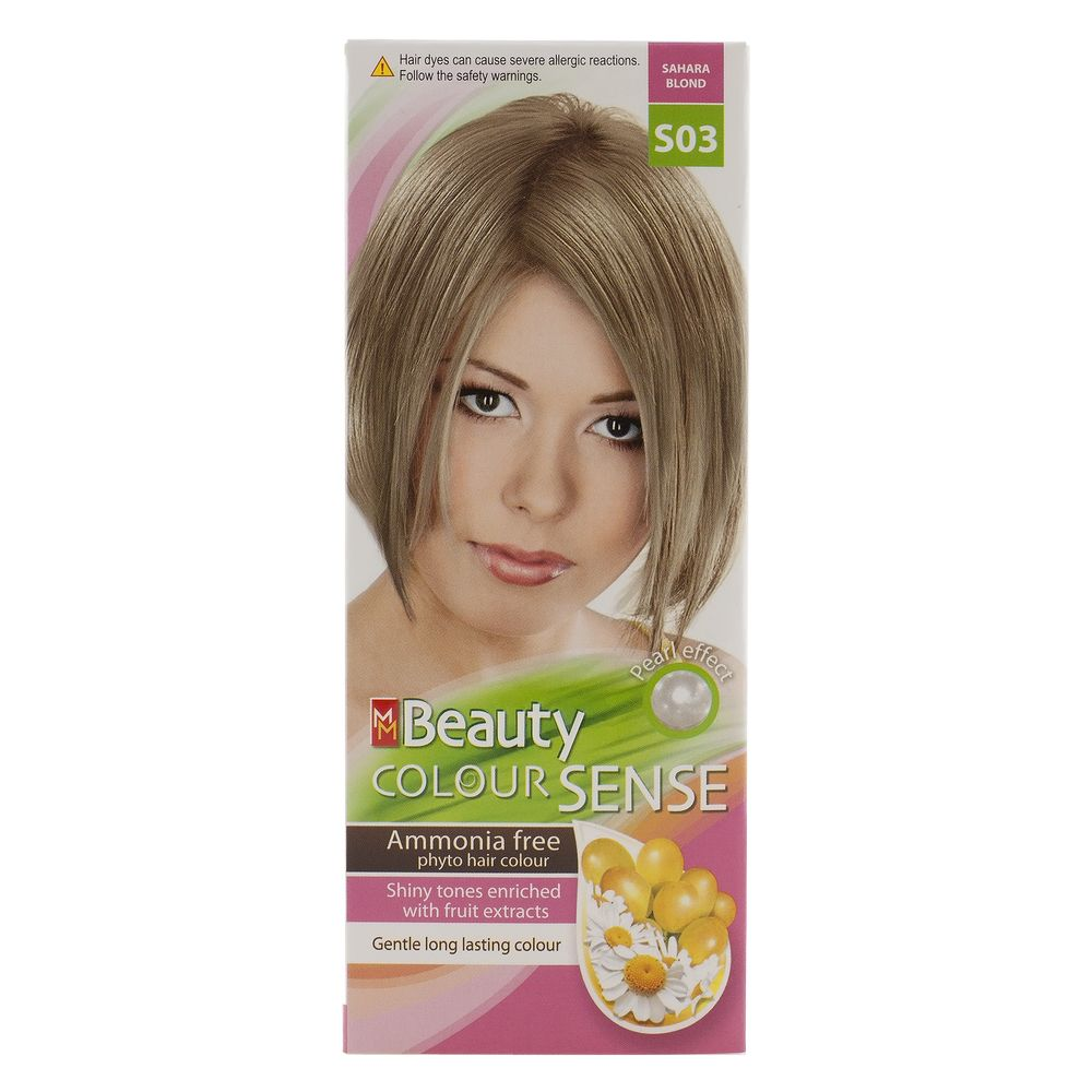 MM BEAUTY COLOUR SENSE VOPSEA DE PAR S03 BLOND NISIPIU