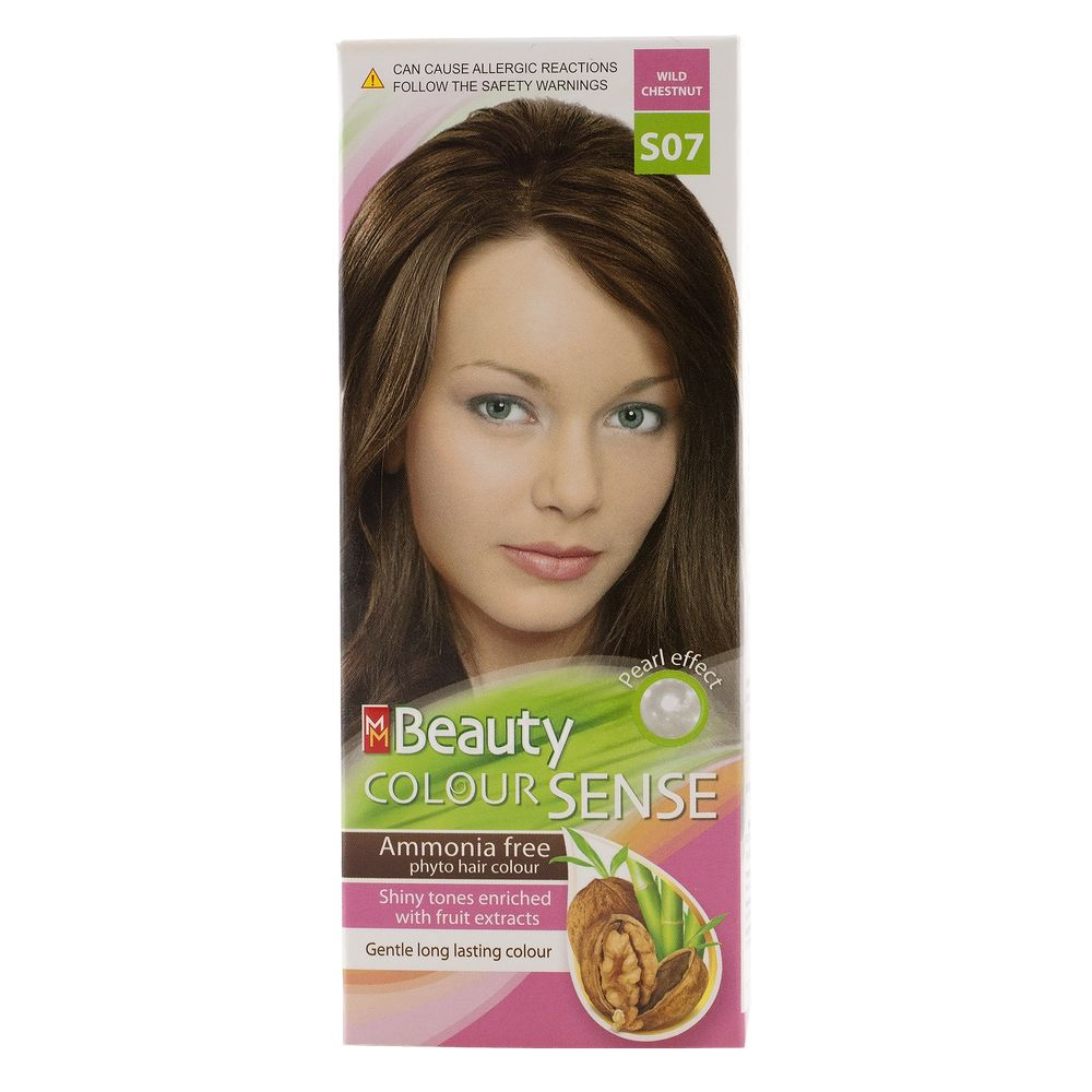 MM BEAUTY COLOUR SENSE VOPSEA DE PAR S07 CASTANIU