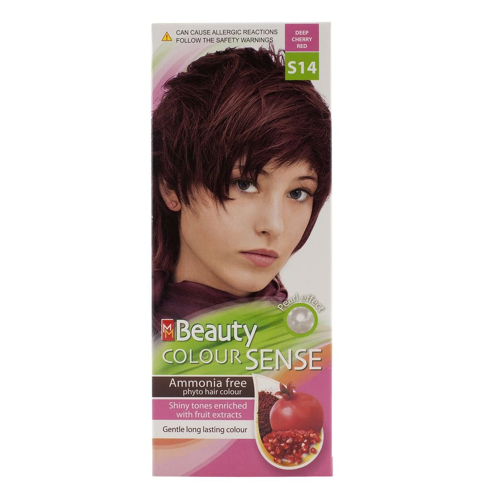 MM BEAUTY COLOUR SENSE VOPSEA DE PAR S14 ROSU CIREASA