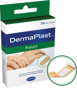 DERMAPLAST PROTECT PLUS PLASTURI 19 X 72MM 5354253