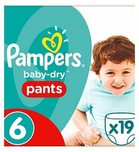 Scutece Pampers Active Baby nr. 6, 15+ kg | 19 bucati