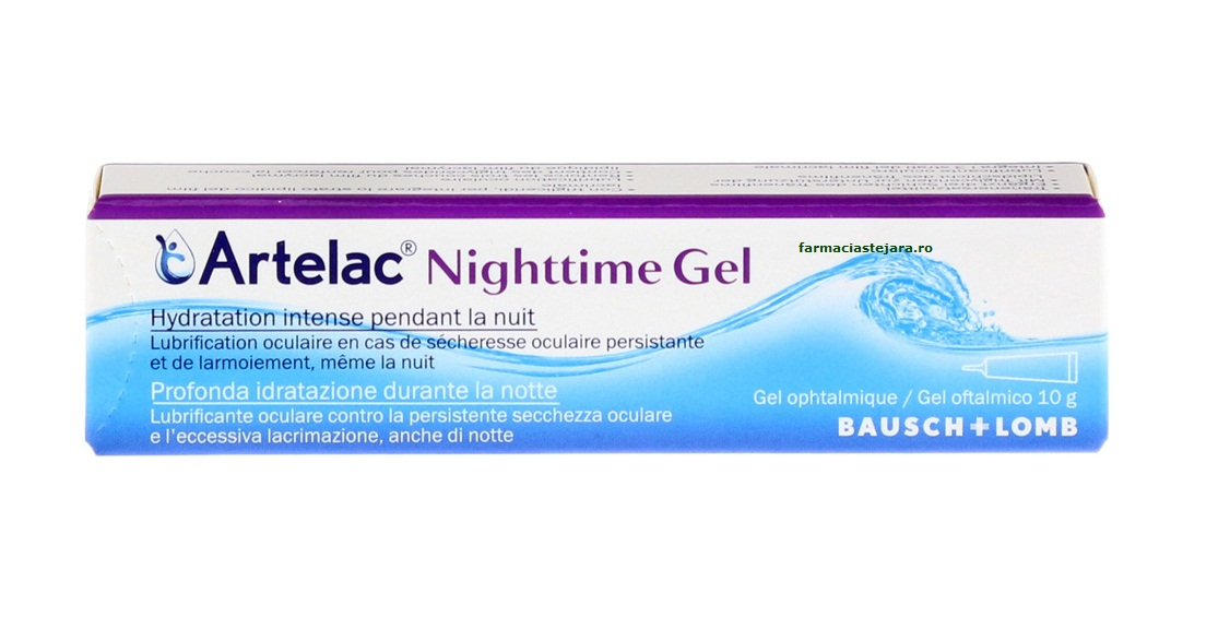 artelac nighttime gel how to use