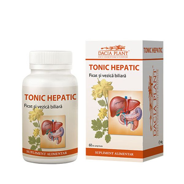 TONIC HEPATIC 60COMPR