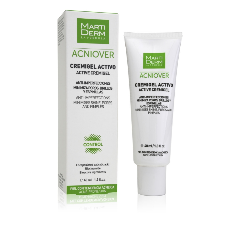 Crema antiacnee Cremigel Acniover