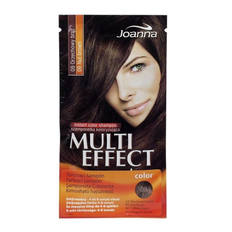 "SAMPON NUANTATOR 09 CAFENIU NUCA ""MULTI EFFECT COLOR"" 35 G"