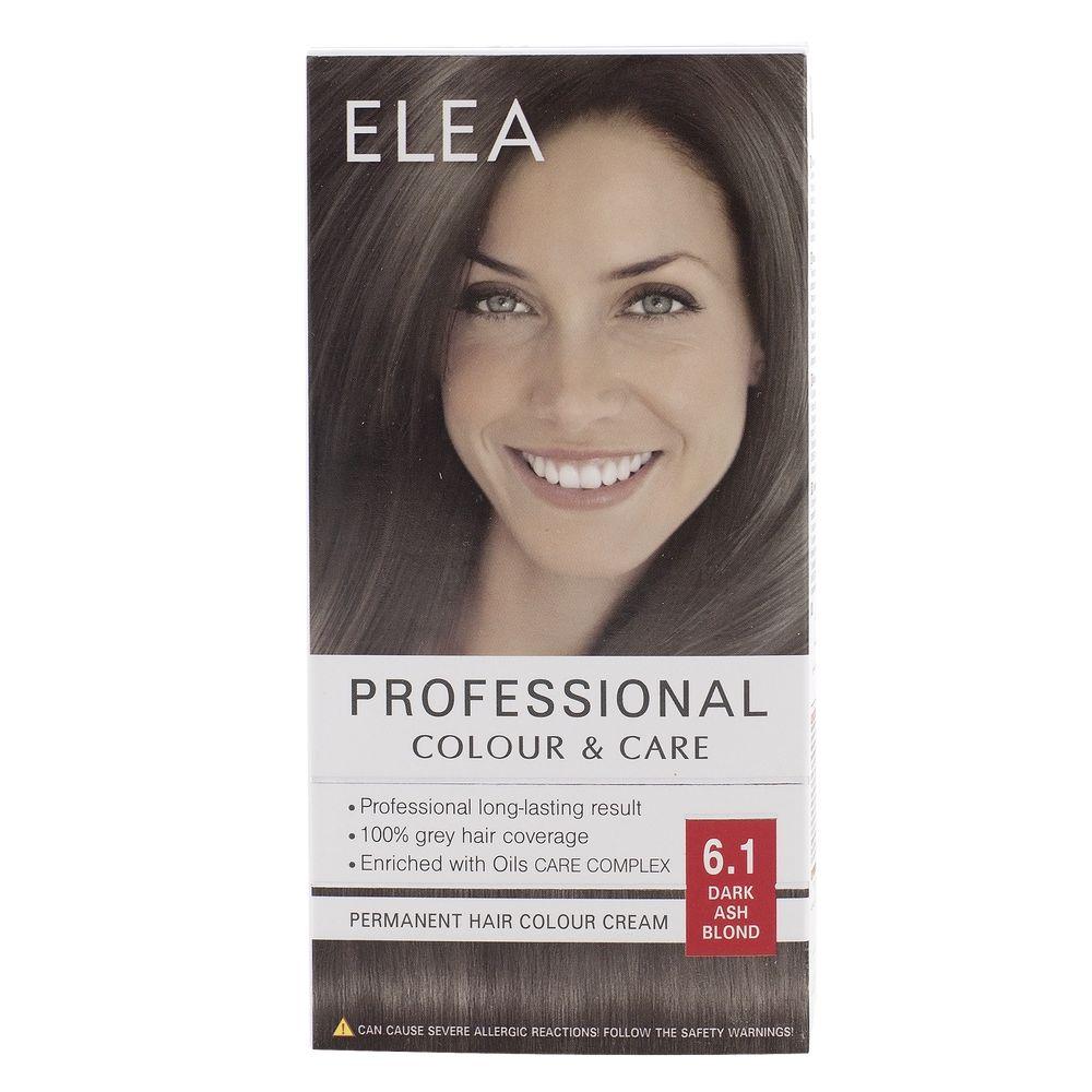 Medimfarm Elea Professional Vopsea De Par 61 Blond Cenusiu Inchis
