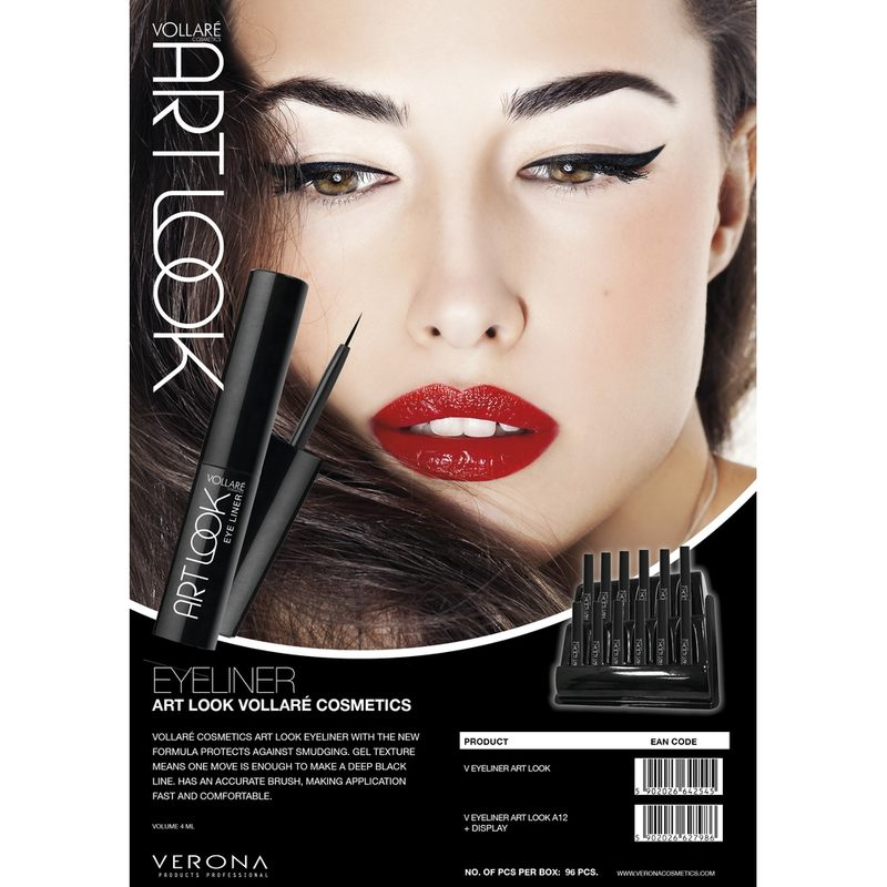 INGRID VOLLARE TUS DE OCHI ART CODE EYE LINER NEGRU 4ML