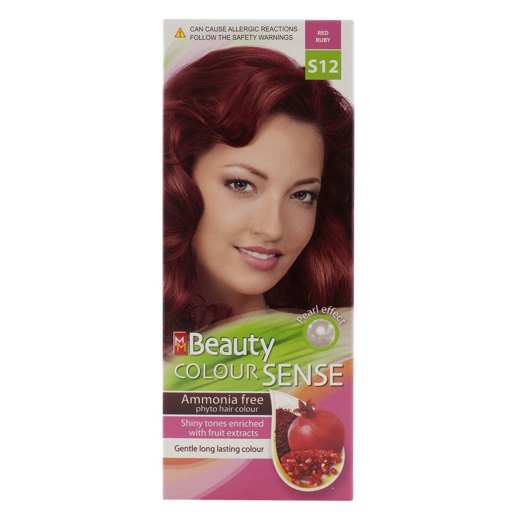 MM BEAUTY COLOUR SENSE VOPSEA DE PAR S12 ROSU RUBINIU