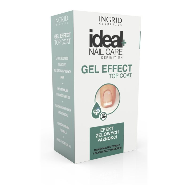 IDEAL NAIL CARE TRATAMENT GEL EFFECT UNGHII TOP COAT 7ML