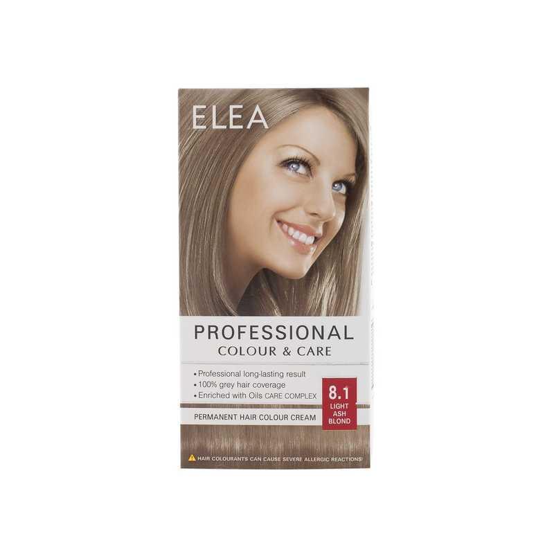 Medimfarm Elea Professional Vopsea De Par 81 Blond Cenusiu Deschis