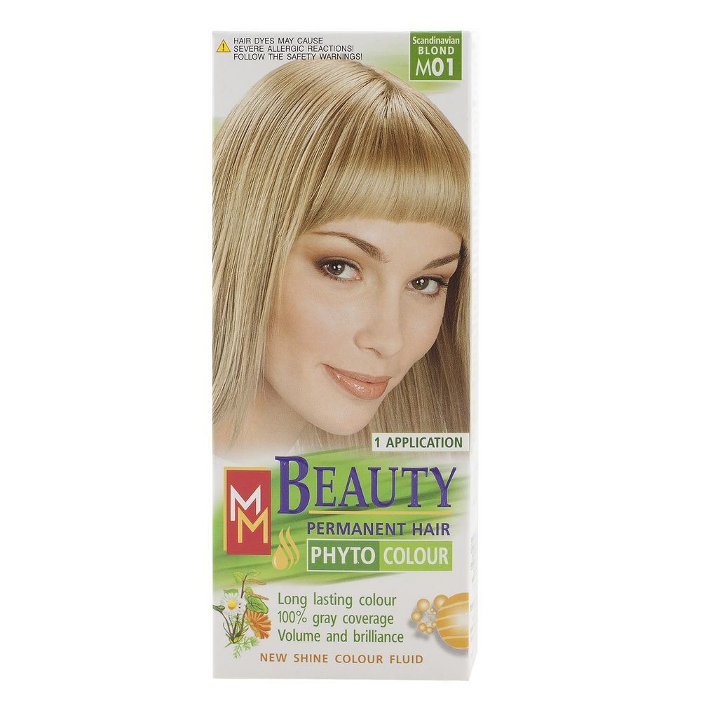 MM BEAUTY VOPSEA PAR M01 BLOND DESCHIS