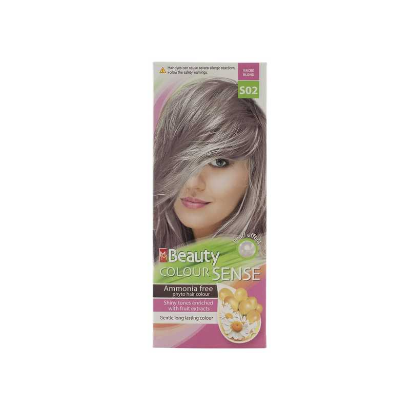 MM BEAUTY COLOUR SENSE VOPSEA DE PAR S02 BLOND SIDEFAT