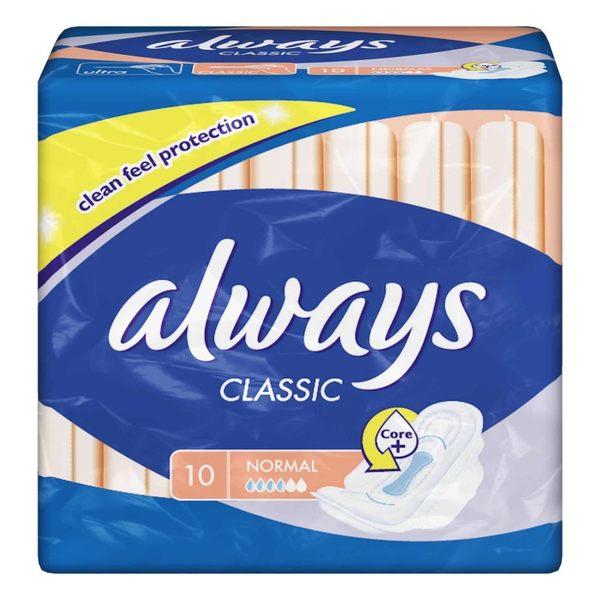 ALWAYS CLASSIC NORMAL PLUS X 10   P&G