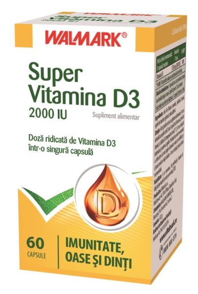 SUPER VITAMINA D3 200IU 60COMPR