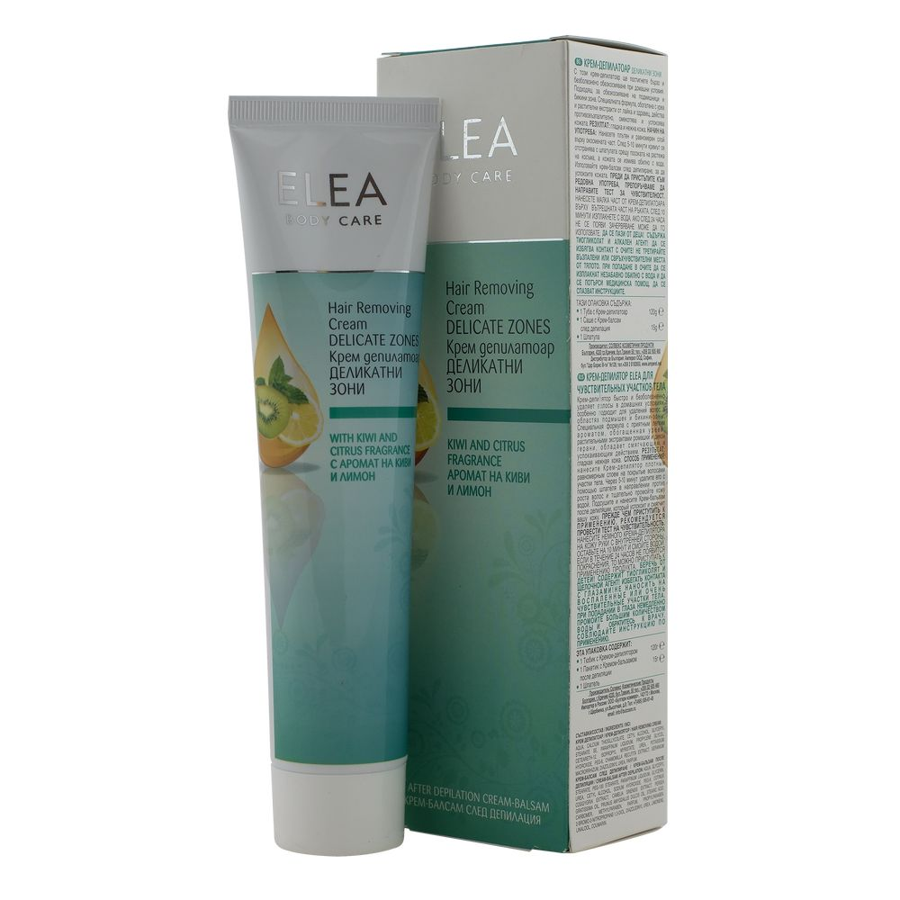 ELEA CREMA DEPILATOARE ZONE SENSIBILE 120ML