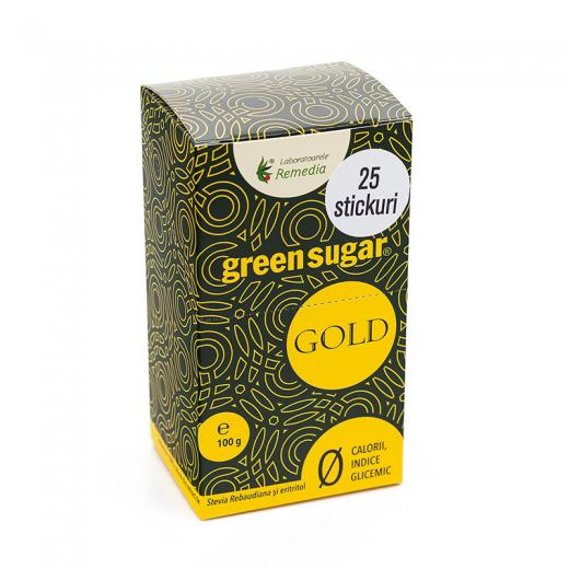 GREEN SUGAR GOLD 25 PLICURI