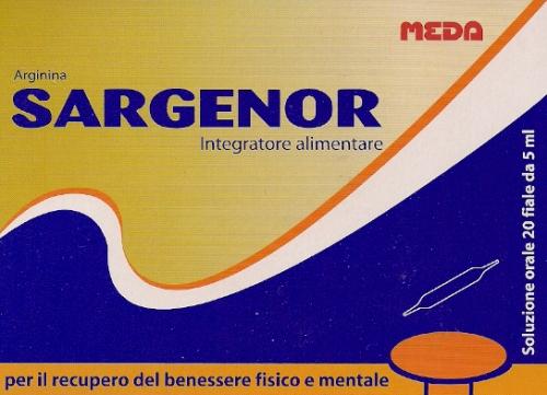 Medimfarm - SARGENOR X 20